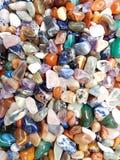 färgrika gemstones arkivbild