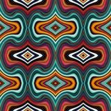 Färgrika geometriska sömlösa modeller royaltyfri illustrationer