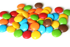 färgrika godisar fotografering för bildbyråer