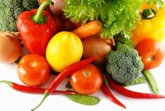 färgrika grönsaker Arkivbilder