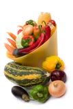 färgrika grönsaker Royaltyfri Foto