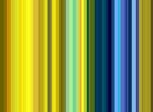 Färgrika guld- blåa gula linjer, pastellfärgade toner Fotografering för Bildbyråer