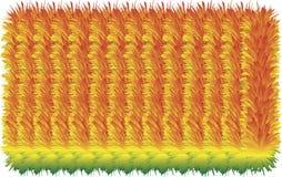 färgrika håriga linjer 3D royaltyfri illustrationer