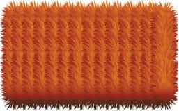 färgrika håriga linjer 3D stock illustrationer