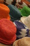 färgrika hattar Royaltyfri Bild