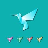 färgrika hummingbirds Royaltyfri Bild