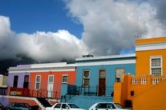 färgrika hus Royaltyfri Fotografi