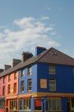 färgrika hus royaltyfria bilder