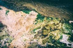 Färgrika insättningar, den varma våren i Karlovy varierar, det parallella filtret fotografering för bildbyråer