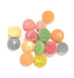 Färgrika Jelly Gummy Fruit Royaltyfri Fotografi