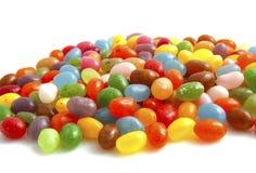 färgrika jellybeans Arkivbild