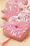 Färgrika kakor för jul royaltyfri bild