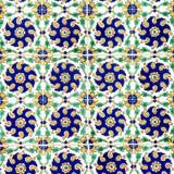 Färgrika keramiska tegelplattor Royaltyfria Bilder