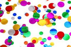 färgrika konfettiar Royaltyfria Foton