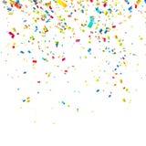 färgrika konfettiar Royaltyfri Fotografi