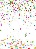 färgrika konfettiar Royaltyfri Foto