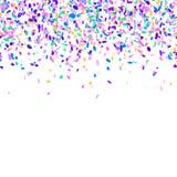färgrika konfettiar för bakgrund Royaltyfri Fotografi