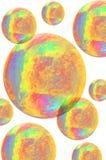 färgrika kulor Royaltyfri Bild