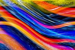 färgrika kurvor Royaltyfri Bild