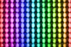 färgrika lampor Royaltyfri Foto