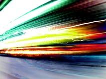 färgrika lampor Arkivbilder