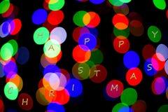 färgrika lampor arkivbild