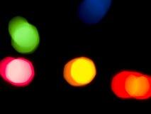 färgrika lampor för bakgrund royaltyfria foton
