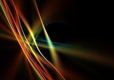 färgrika linjer Royaltyfria Bilder