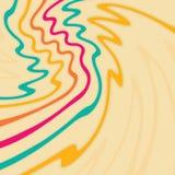 Färgrika linjer Arkivfoton