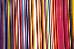 Färgrika linjer bakgrund för abstrakt konst Fotografering för Bildbyråer