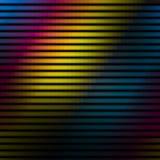 Färgrika linjer väggbakgrund Arkivfoton