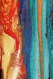 färgrika målarfärger Royaltyfri Bild