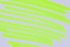 färgrika markörpennor Royaltyfri Fotografi