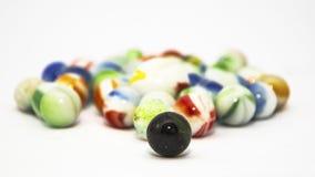 färgrika marmorar Fotografering för Bildbyråer