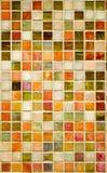 Färgrika marmortegelplattor Arkivfoto
