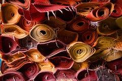 Färgrika mats Royaltyfria Bilder