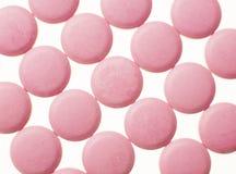 färgrika medicinal pills Arkivfoton