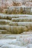 Färgrika mineraliska insättningar Fotografering för Bildbyråer