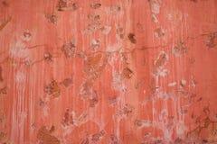 Färgrika modeller och texturer av den gamla cementväggen fotografering för bildbyråer