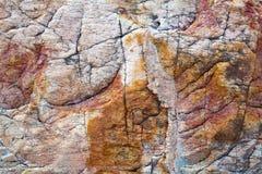 Färgrika modeller och texturer av stenen royaltyfri fotografi