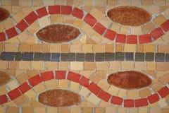färgrika mosaik Royaltyfria Bilder