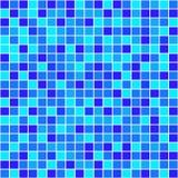Färgrika mosaikfyrkanter vektor Arkivfoton