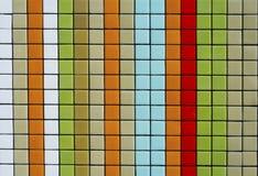 färgrika mosaiktegelplattor Fotografering för Bildbyråer