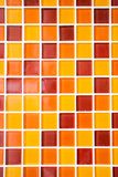 färgrika mosaiktegelplattor Royaltyfria Bilder