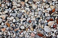 färgrika naturliga stenar Royaltyfria Bilder