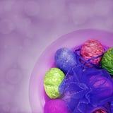 Färgrika påskägg Royaltyfria Bilder