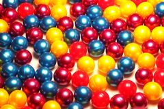 färgrika paintballs Royaltyfria Foton