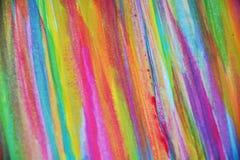 Färgrika pastellfärgade toner, slaglängder av borsten, backgrounnd arkivbilder