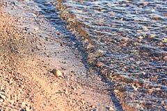 färgrika pebbles Royaltyfri Fotografi