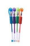 färgrika pennor Royaltyfria Bilder